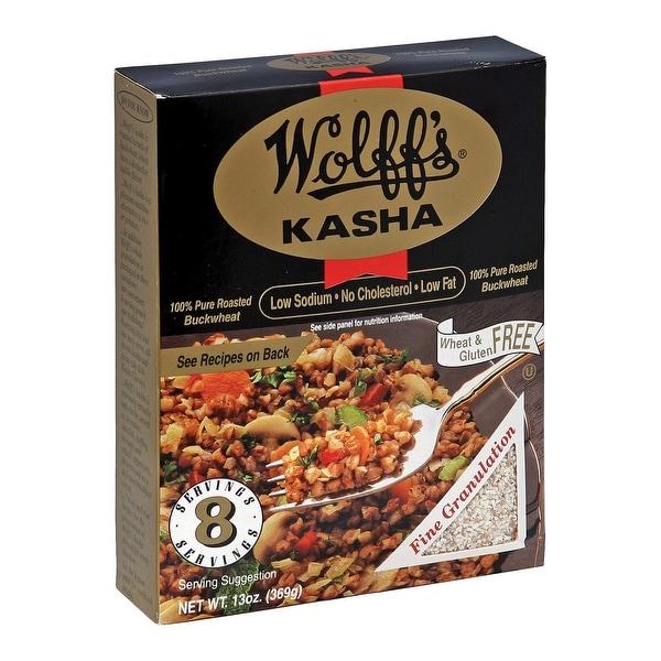 Wolff's Kasha Fine - Case of 6 - 13 oz. - 2 Pack