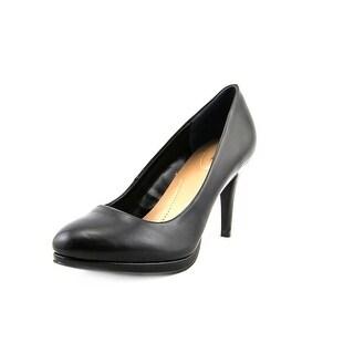 Style & Co Nikolet Women Round Toe Synthetic Black Heels