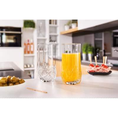 Luminarc 15.75 Ounce Brighton Cooler Glass, Set of 4