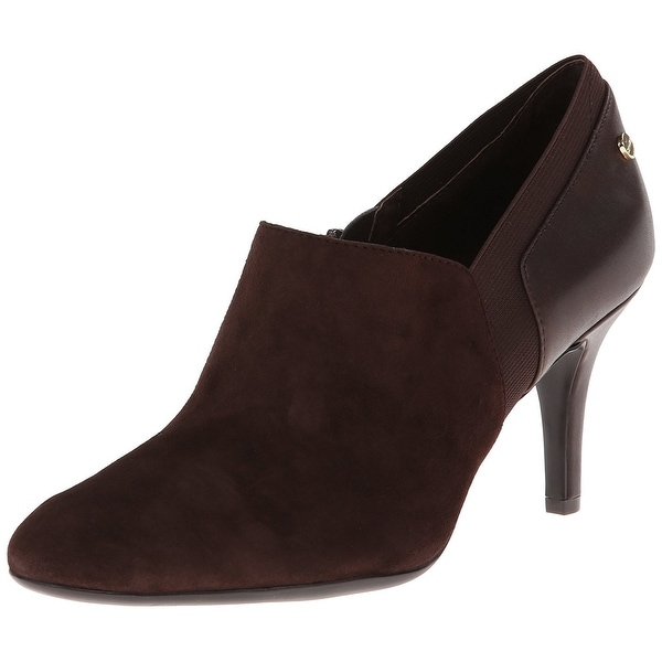 Calvin Klein Women's Jeanine Suede Dress Shooties