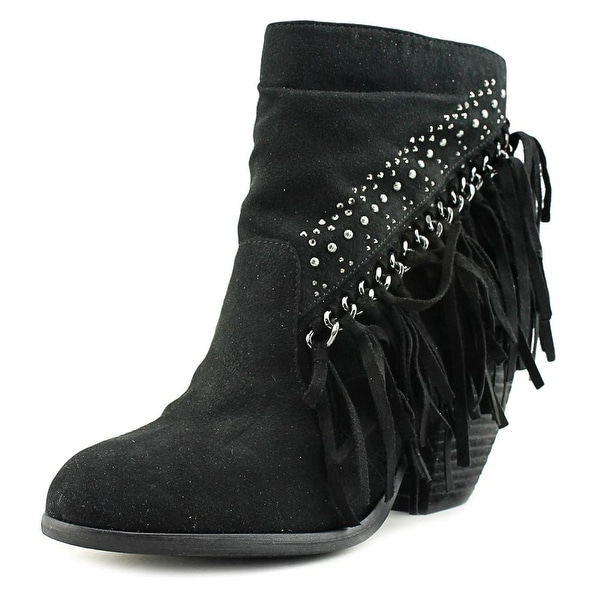 Not Rated Noora Women Round Toe Canvas Ankle Boot