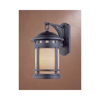 """Designers Fountain 2381-AM-ORB 3 Light 9"""" Cast Aluminum Wall Lantern from the Sedona Collection"""