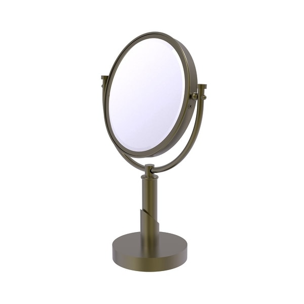Allied Brass Tribecca Collection 8-in Vanity Top Make-Up Mirror 4X Magnification