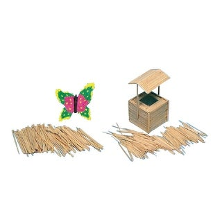 Creativity Street Round Wood Toothpick, Pack of 800