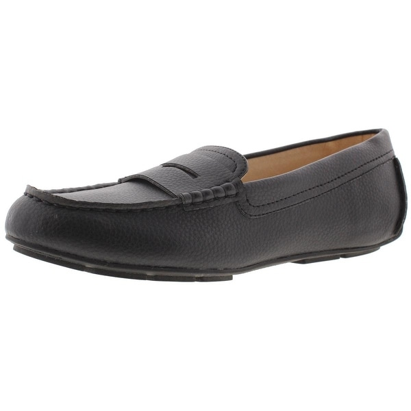 7726b266871 Shop Circus by Sam Edelman Womens Fayette Penny Loafers Faux Leather Slip  On - 9 medium (b