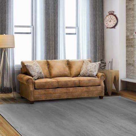 Thames Fabric Nailhead Sofa