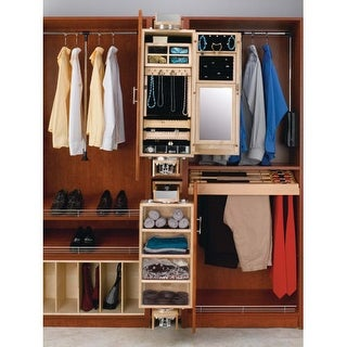 Rev-A-Shelf CAL-081642-1 CA Series 8 x 16 x 42 Inch Ladies Closet Armoire