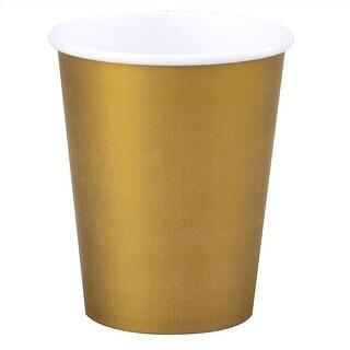 Gold Paper Cups - 12oz