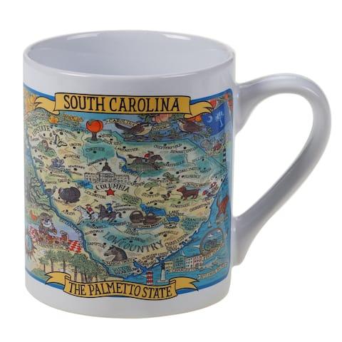 Certified International South Carolina Souvenir Jumbo Mugs (Set of 6)