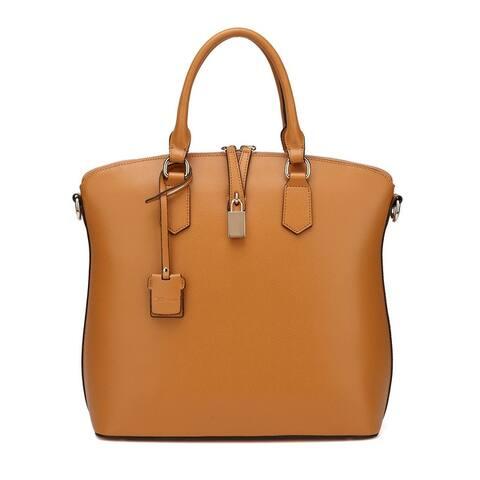 Vicenzo Leather Delicia Top Handle Leather Handbag