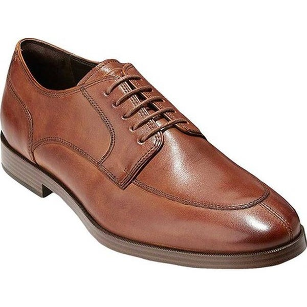 Cole Haan Men's Jay Grand Apron Oxford British Tan Leather