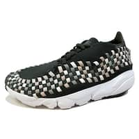 Nike Men's Air Footscape Woven NM Sequoia/Light Orewood Brown-Sail 875797-300