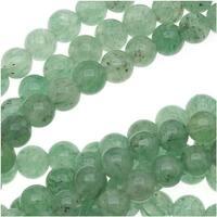 Light Green Aventurine Smooth Round Beads 3mm/16 Inch Strand