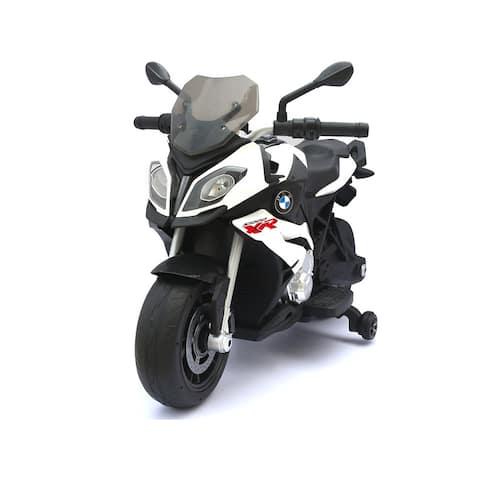 BMW 12v Motorcycle White