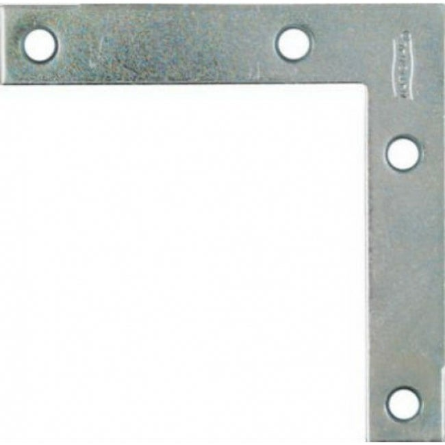 National Hardware N114-025 Flat Corner Braces with Screws, 3-1/2, 4-Pack