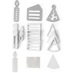 Birthday - Queen & Company Shaker Shape Kit