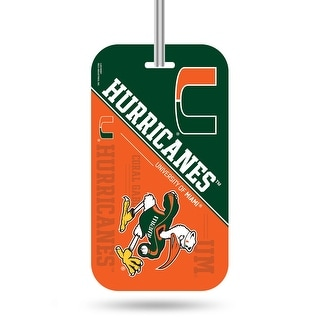 Link to Miami Hurricanes Luggage Tag Similar Items in Fan Shop