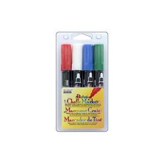 Uchida Bistro Chalk Marker Broad Broad Set E 4pc
