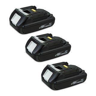 Replacement 1500mAh Battery For Makita BTW450 / BSS501 Power Tools (3 Pack)