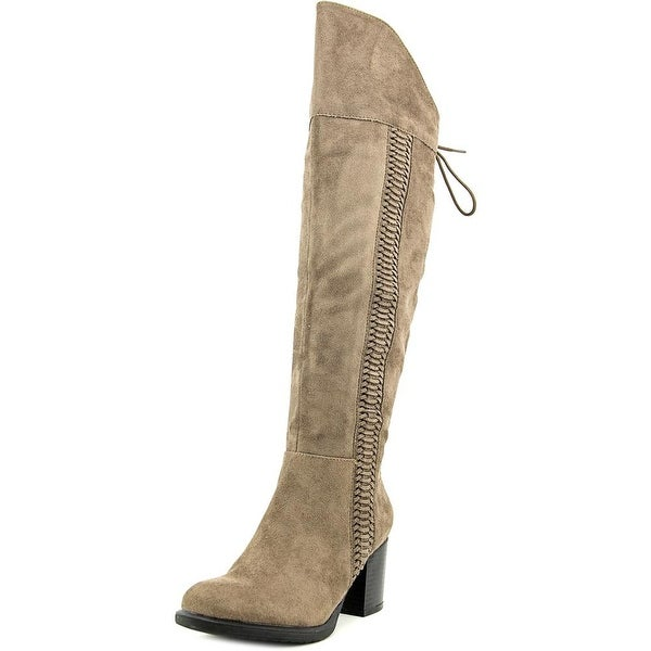 American Rag Aleonna Women  Round Toe Synthetic Brown Knee High Boot
