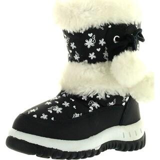 Lj-Adorababy Girl's Winter Snow Boots