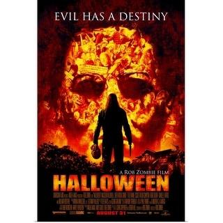 """Halloween (2007)"" Poster Print"