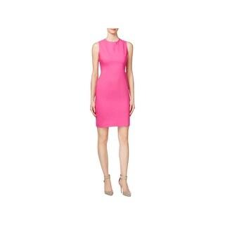 Calvin Klein Womens Petites Cocktail Dress Sleeveless Knee-Length