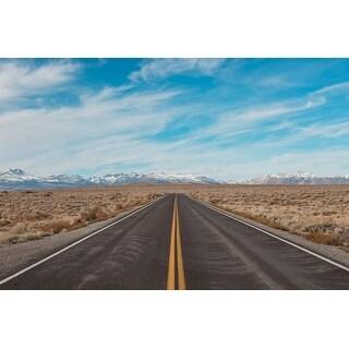 Road & Sky Photograph Unframed Fine Art Print