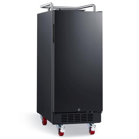 "EdgeStar BR1500 15"" Wide Kegerator Conversion Refrigerator with Forced Air Refrigeration"