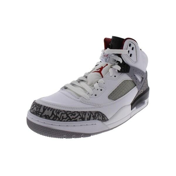 reputable site cff63 b2b98 Nike Mens Jordan Spizike Basketball Shoes Leather Sport