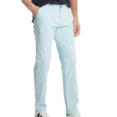 Tommy Hilfiger Mens Pants Classic Light Blue Size 38 Chino Stretch
