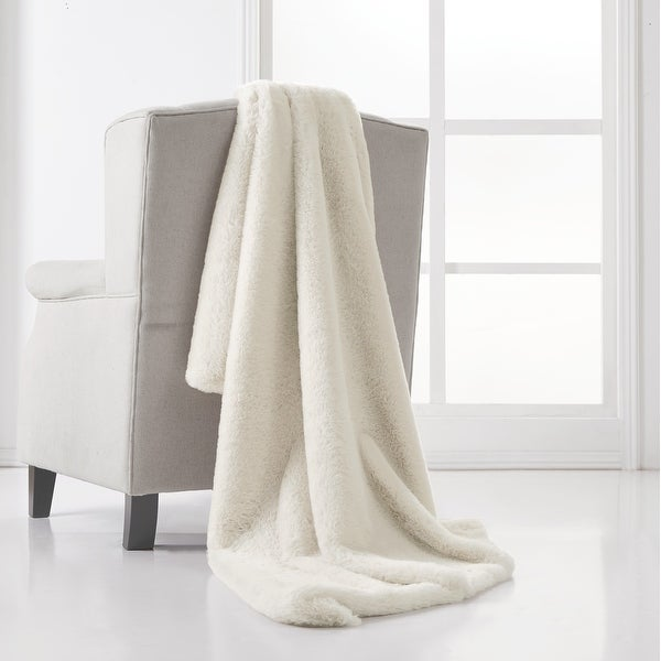 Charisma Luxe Super Soft Faux Fur 50x70 Throw with Gift Box. Opens flyout.