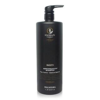 Paul Mitchell Awapuhi Wild Ginger Smooth Mirrorsmooth Shampoo Liter