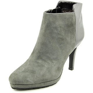Tahari Gordon Pointed Toe Suede Bootie