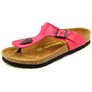 Birkenstock Gizeh Youth N Open Toe Synthetic Pink Thong Sandal