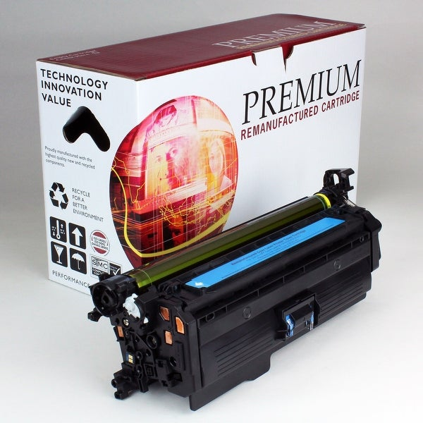 Re Premium Brand replacement for HP 648A Cyan Toner CE261A