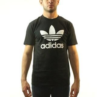Adidas Originals Trefoil Men's Black T-shirt