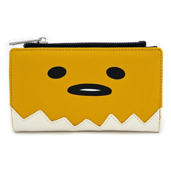 Loungefly Gudetama Big Face Zip Around Wallet - One Size Fits most