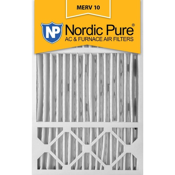 Shop Nordic Pure 16x25x5 Honeywell Replacement Pleated
