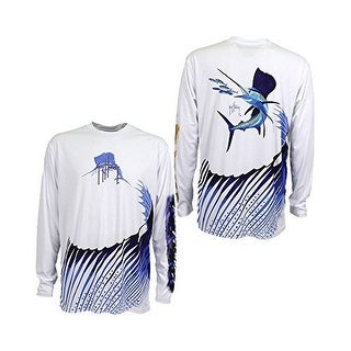 Guy Harvey Mens SAILFISH MENS L/S
