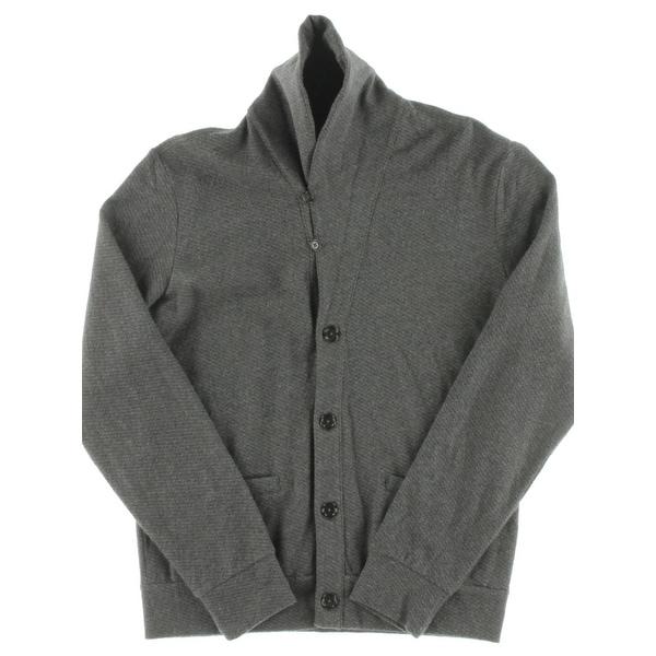 Polo Ralph Lauren Mens Cardigan Sweater Jacquard Fleece Shawl Collar