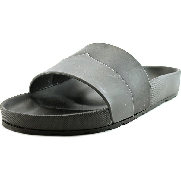 Hunter Original Two Tone Moustache Women Dark Slate/ Black Sandals