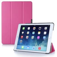 i-Blason Apple iPad Air 2 Case - i-Folio Slim Hard Shell Stand Case - Magenta