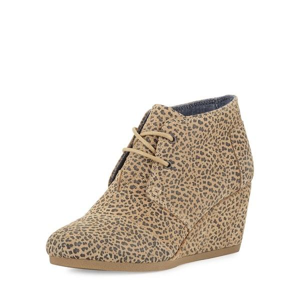 c6819042f0a9 Shop Toms Womens Desert Wedge Round Toe Casual Platform Sandals ...