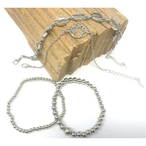 AFONiE Silver Ocean World Women Bracelets