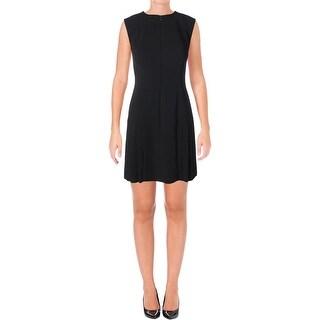 Anne Klein Womens Semi-Formal Dress Pleated Sleeveless