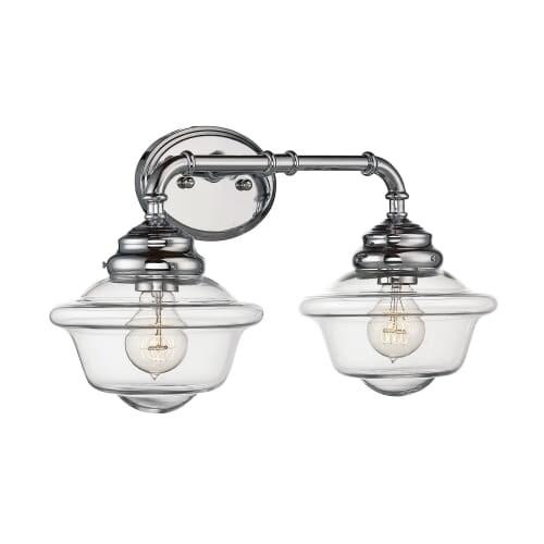 Savoy House 8-393-2 Fairfield 2 Light Bathroom Vanity Light