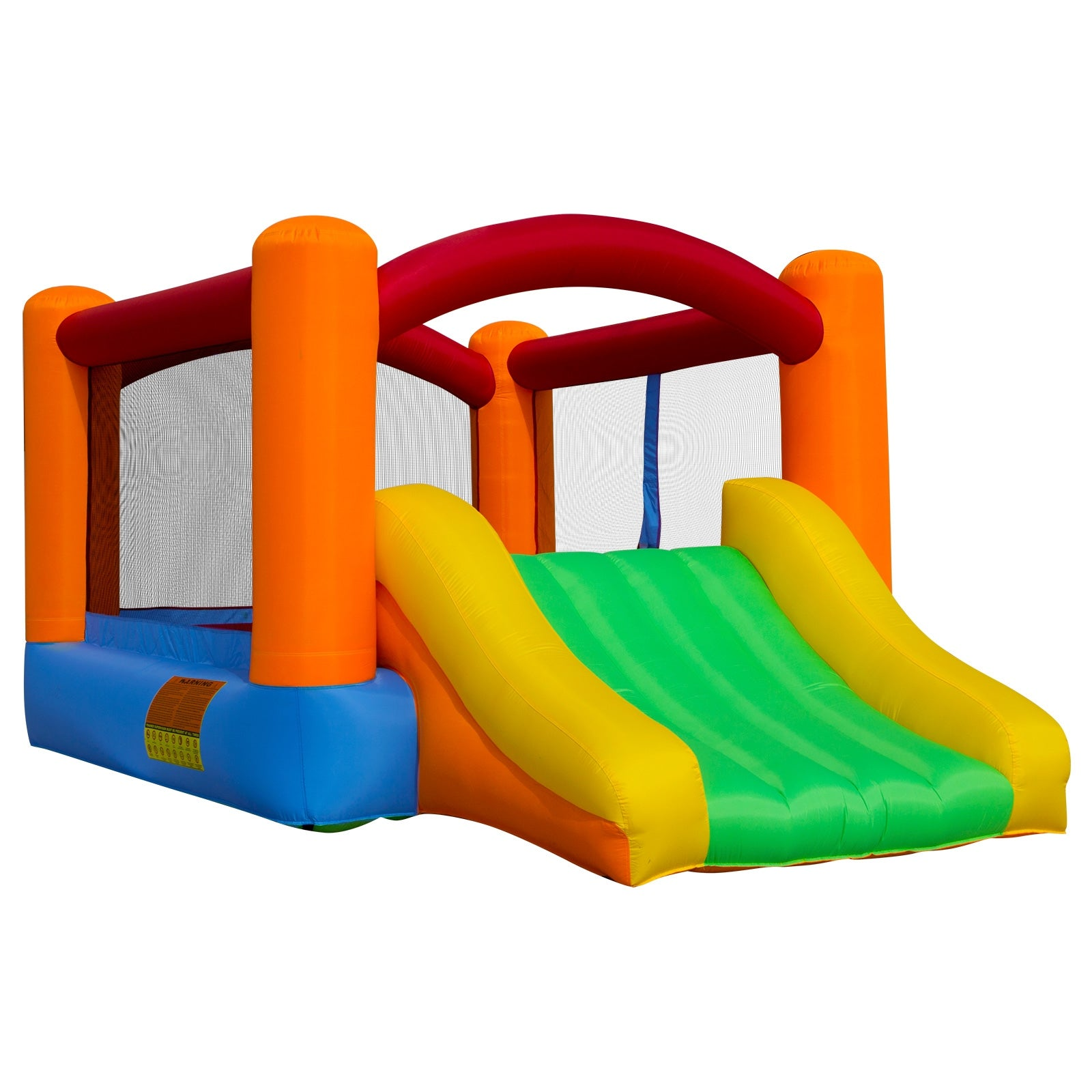 Enjoyable Cloud 9 Bounce House With Slide With Blower Interior Design Ideas Gentotryabchikinfo