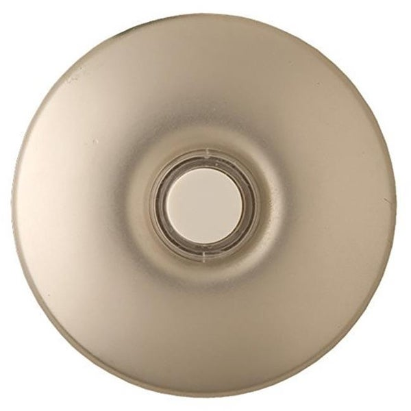 Wired Lighted Stucco Push Button for Prime Chime Door Bell Kit -