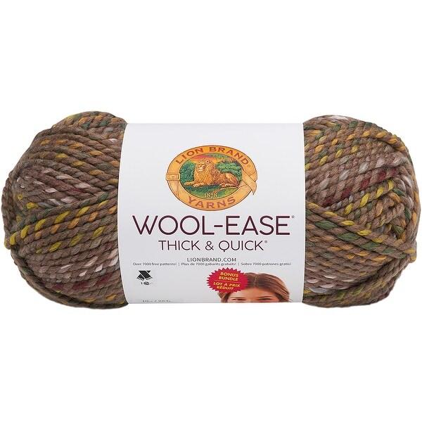 Shop Lion Brand Wool Ease Thick Amp Quick Prints Bonus